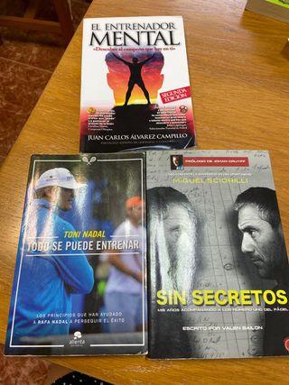 Pack libros de auto-ayuda / Deporte