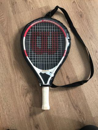 Raqueta Tenis niño niña Wilson