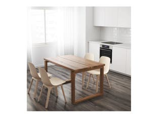 MESA MADERA MÖRBYLÅNGA IKEA