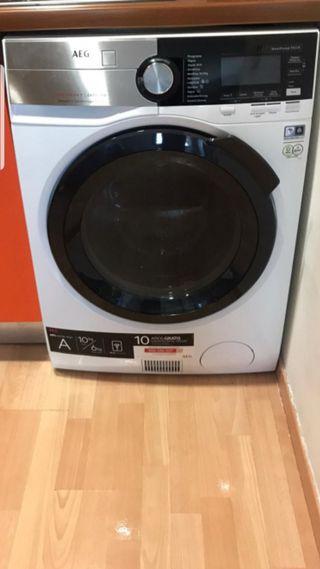 AEG lavadora y secadora