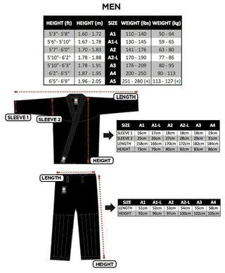 kimono Gi Atama mundial A3 bjj Jiu-Jitsu MMA ufc