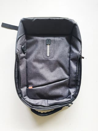 mochila con batería