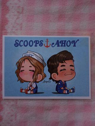 Scoops Ahoy - Steve y Robin