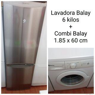 Lavadora+Combi Balay con garantía
