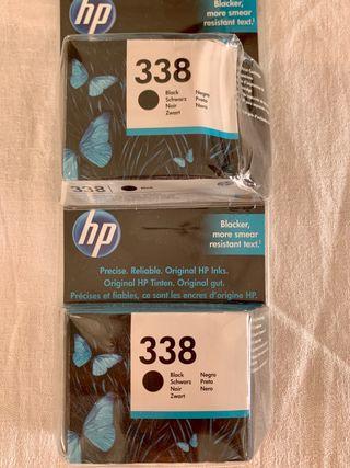 Cartucho original impresora HP talla XL 480 copias