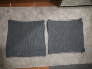 2 fundas para cojín 50x50