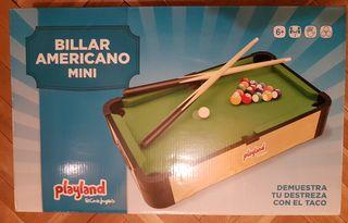 Billar Americano Mini Playland