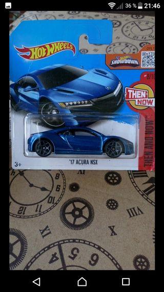 '17 Acura NSX Hot wheels 2016