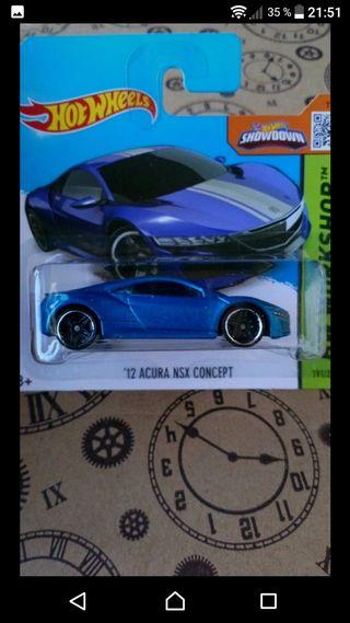 '12 Acura NSX concept Hot wheels 2015