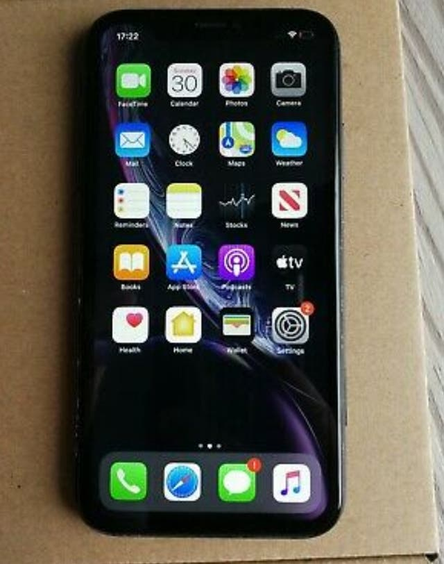 IPhone xr 128gb unlocked black