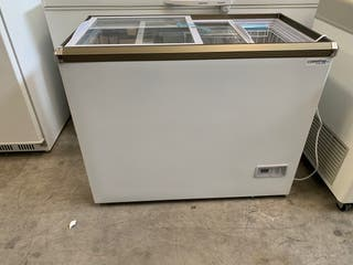 Congelador tapa de cristal