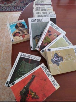 Novelas de Agatha Christie. Poirot y Ma