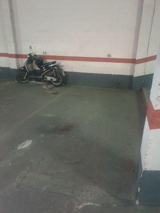 Alquiler plaza de garaje C/Almacera