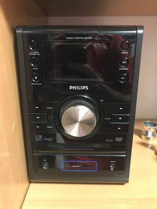 Microcadena CD DVD Philips