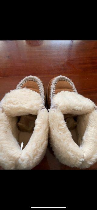 Zapatillas tipo Ugg