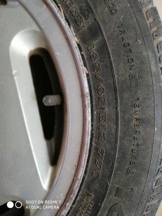 1 rueda + 1 neumático