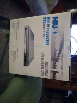 mini reproductor DVD