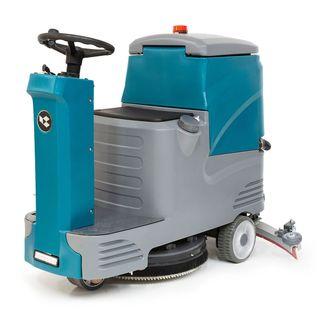 Fregadora de suelos de conductor