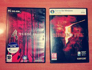 Resident Evil Juegos PC