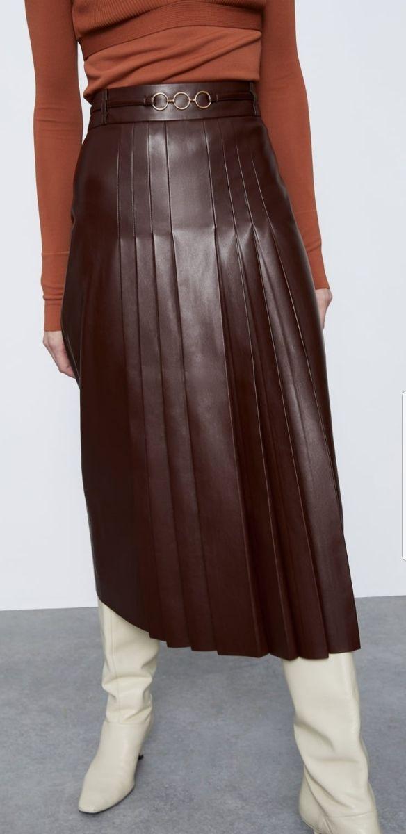 falda plisada ZARA (SOLO HOY)