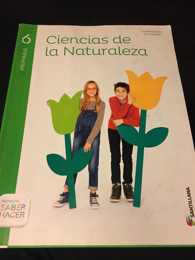 Libro Ciencias De La Naturaleza 6 Primaria De Segunda Mano