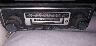 Cassette Car Stereo Sanyo