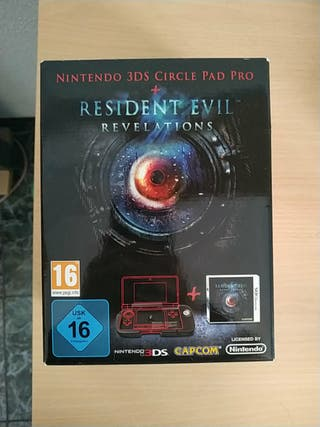 Resident Evil Revelations+Circle pad pro 3DS