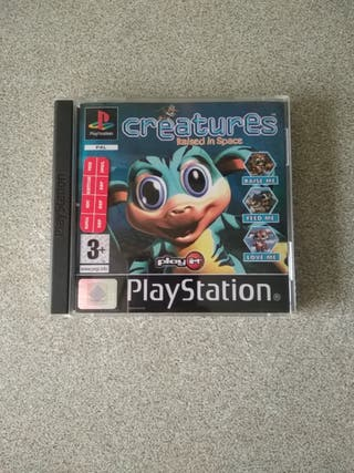 """Juego Ps1 """"CREATURES Raised in Space"""" PAL"""
