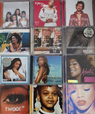CD Soul Pop R&B Rap lote 4
