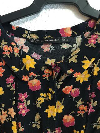Vestido Zara estilo Vintage / Retro