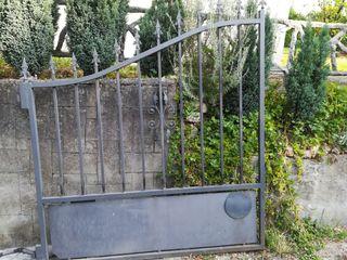 portail, puerta exterior batiente 2 hojas