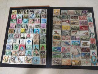 colección de sellos (2, libros)