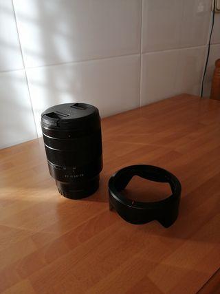 Ojetivo 24 70 f4 Carl Zeis Sony E full frame