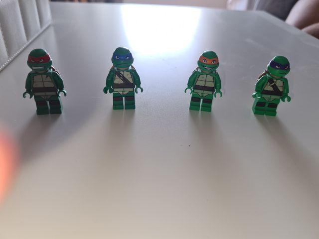 lego tortugas ninja figuras