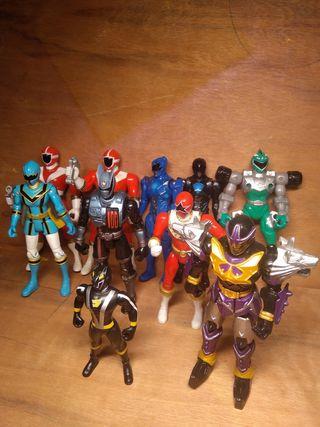 Lote muñecos Power Rangers