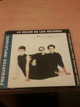 presuntos implicados cd musica, 7 euros envios.