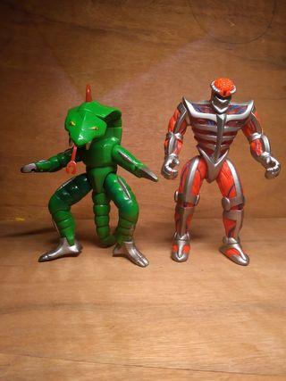 Muñecos Power Rangers