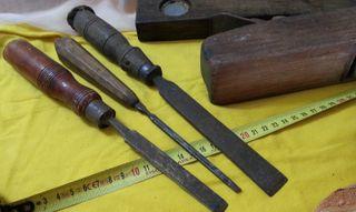 Herramientas de carpintería. Conjunto