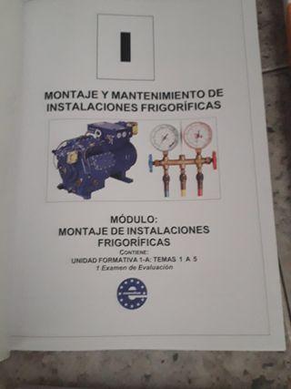 montaje y mantenimiento instalaciones frigorificas