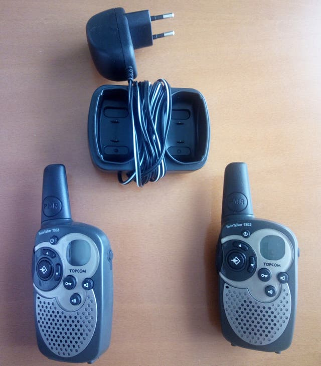Walkie Talkie 446 MHz-TOPCOM Twintalker 1302