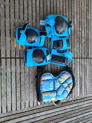 protecciones patines skate niño. Badalona centro