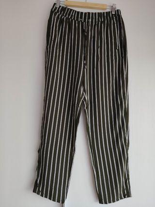 pantalón tipo paperbag nuevo