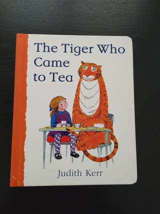 Cuento The Tiger Who came to tea