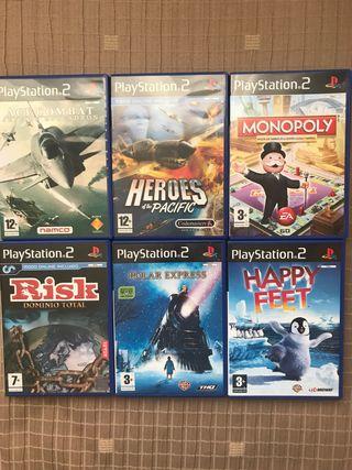 Juegos PlayStation 2 (pack o por separado)