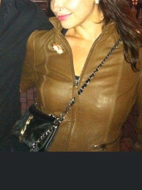 Cazadora piel Zara