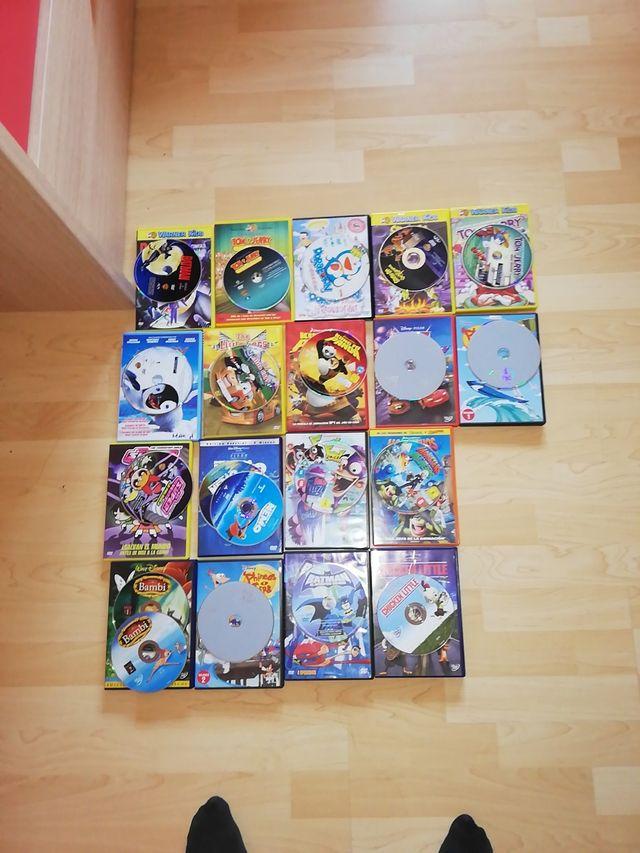 Pack de 20 pel·lícules de dibuixos