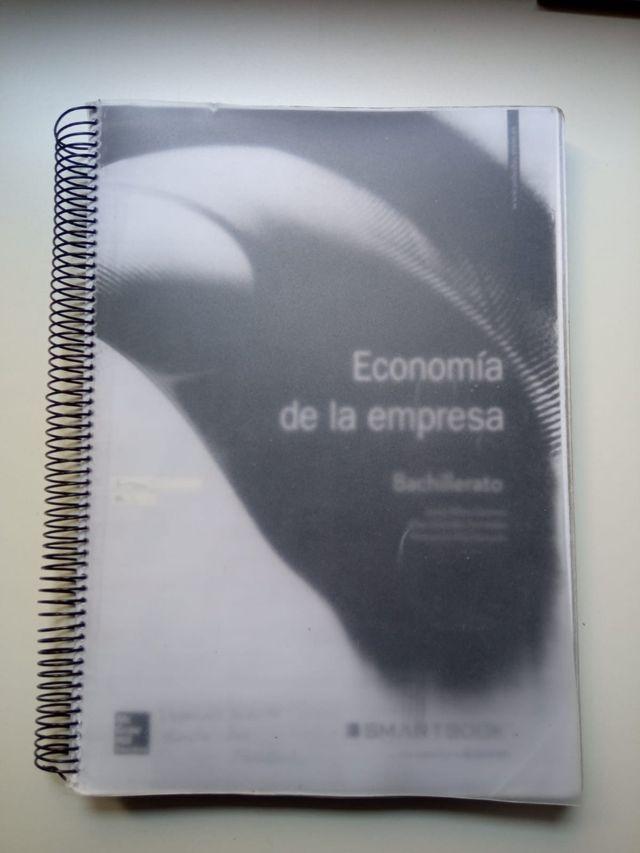 LIBRO DE ECONOMÍA DE LA EMPRESA 2 °DE BACHILLERATO
