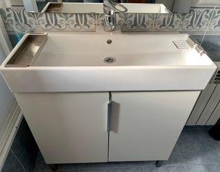 Mueble de baño con grifo Grohe