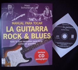 Manual para tocar la guitarra Rock & blues