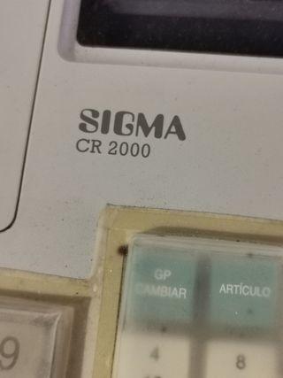 Máquina registradora Sigma Cr 2000